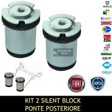 KIT 2 BOCCOLE / SILENT BLOCK DEL PONTE POSTERIORE FIAT STILO - LANCIA DELTA III