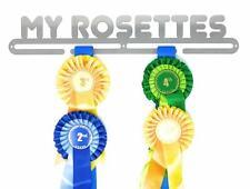 Rosette Hanger/Holder/Display/Rack, MY ROSETTES,  Steel Silver