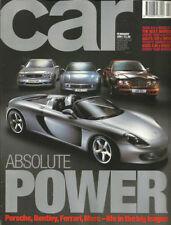 February Performance Car Monthly Transportation Magazines