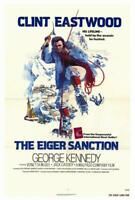 The Eiger Sanction Movie POSTER 27 x 40 Clint Eastwood, George Kennedy, A