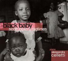 Black Baby: Scott Joplin's Ragtimes by Alessandra Celletti (CD-2002) NEW