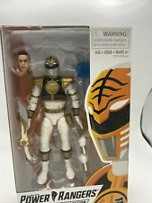 "Mighty Morphin White Ranger 6"" Figure - Power Rangers Lightning Collection"