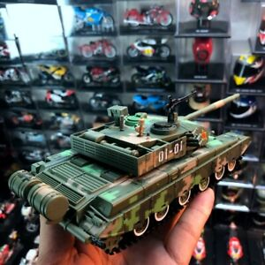 Alloy Tank Model 1:48 Chinese Type 99 Main Battle Tank Military Chariot Tracked
