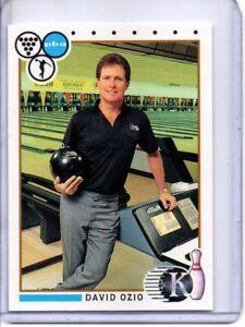 1990 PBA BOWLING CARD #57 DAVID OZIO (HALL OF FAMER)