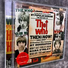 The Who - Then And Now (2007) CD V.G.C.