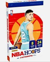 2020-21 Panini NBA HOOPS Basketball Hobby Box Factory Sealed 🔥 FREE SHIPPING 🔥