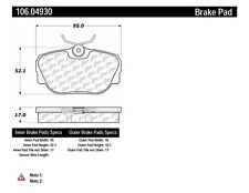Disc Brake Pad Set-Posi-Quiet Extended Wear Disc Brake Pad with Shims Front,Rear