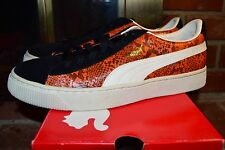 DS 2005 Puma CLYDE Orange/ Snakeskin Size 12