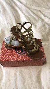 Tory Burch Gladiator Sandals Size 10