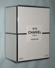 Brand New Chanel No.5 Perfume 30ml in Sealed Shrink Wrapped Box Pure Parfum 1oz