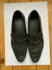 DIOR HOMME - Black Loafers / Mocassins Noirs - Size 10 / Taille 44,5