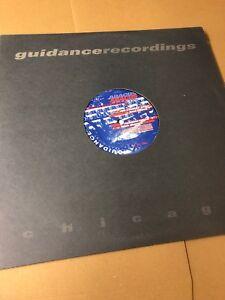 "ABACUS - ANALOG TRKS VOL ONE   12"" 1997 US GUIDANCE RECORDINGS GDR 012   N/MINT"