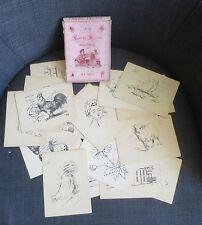 CARTES A DESSINS pour apprendre à dessiner aux petits enfants pochette d'origine