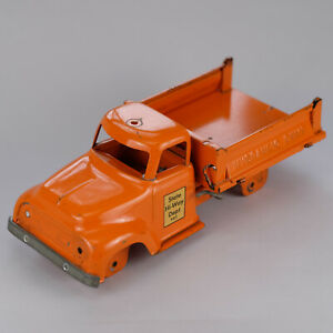 1956 Tonka Pressed Steel Hi-Way Dept 980 Hydraulic Dump Truck Original Toy Parts