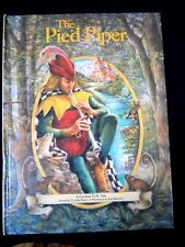 Vintage 1993 The Pied Piper A German Folk Tale / Children's Classic book