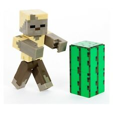 Minecraft Action Figure 5 inch ZOMBIE HUSK WITH CACTUS GREEN NEW in Box