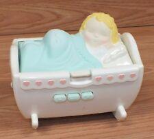 Genuine Vintage 1994 Gaa Corp. Sleeping Baby in Cradle Cassette Play Only *Read*