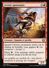 MTG Magic KLD - (x4) Spontaneous Artist/Artiste spontanée, French/VF