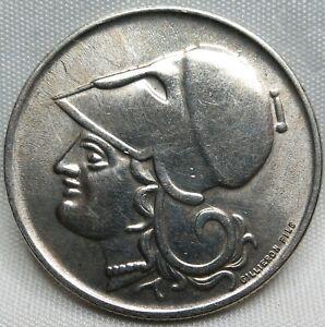 GREECE 1 Drachma 1926 UNC Athena #A69
