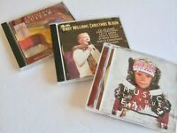 Lot of 3:  Assorted Christmas Music CDs Andy Williams Guitar Holiday Collection