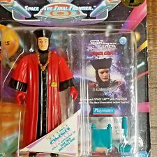 Star Trek The Next Generation Q Action Figure 1994 w/Space Cap and Gear NEW