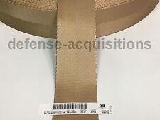 2 1/4 Inch MilSpec Military Webbing Mil-W-4088 T/8C C/1A Tan