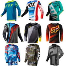 New Motocross Fox Jersey 9 Color Sports Off Road Clothing Quick Dry Function