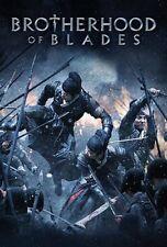 BROTHERHOOD OF BLADES- Hong Kong RARE Kung Fu Martial Arts Action movie - NEW
