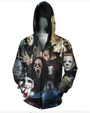 Newest Mens/Womens Horror Movie 3D Print casual Sweatshirt hoodies pullover