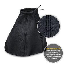 Schaltsack Schaltmanschette für Ford Mondeo MK3 2000-Echtes Leder schwarz