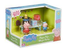 Peppa Pig - Peppa Pig's Magic Party Playset NEW