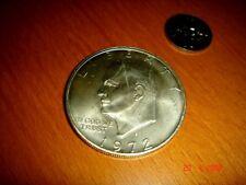 USA, 1972-S Eisenhower Silver Dollar, 400/1000 Fineness, BU