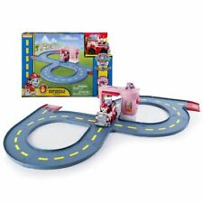 New Paw Patrol Marshall's Pet Rescue Track Set & Exclusive Racer Truck Official