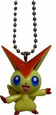 "Pokemon Takara Tomy The Movie BW11 Keychain-2"" Victini-1"