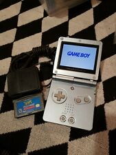 Nintendo Game Boy Advance SP 101 Handheld Console - Pearl Blue