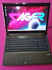 Sager Clevo NP9150 P150EM laptop I7-3740qm 2.7-3.7Ghz 16GB 512GB SSD GTX 965M