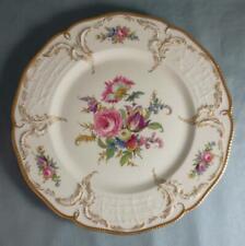 "Vtg 1930's ROSENTHAL IVORY Germany ""DIPLOMAT"" Large Floral Dinner Plate 10-7/8"""