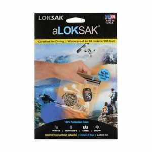 New Loksak Mobile Phone Protector Bag 2pk
