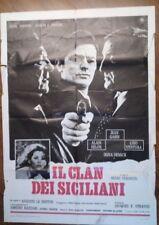 FILM-IL CLAN DEI SICILIANI,ANNO 1969-MANIFESTO ORIGINALE(100 X 140)N.159