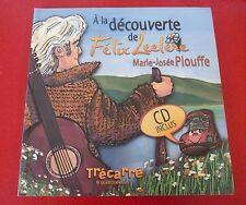 Soft Cover French Book + CD ! À la Découverte de Félix Leclerc !