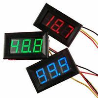 Mini Voltmeter Tester Digital Voltage Test DC 0-30V Red Auto Car Kit HOT SA O9E7
