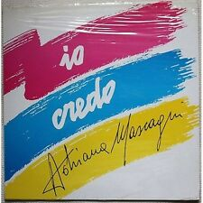 ADRIANA MASCAGNI - Io credo - FRANCO MUSSIDA LP VINYL 1988 SIGILLATO SEALED