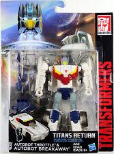 Transformers Deluxe Class ~ Autobot BREAKAWAY w/THROTTLE ~ Titans Return