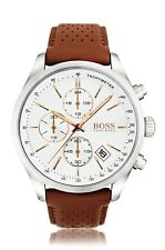 NEW HUGO BOSS HB 1513475 MENS GRAND PRIX WATCH - 2 YEARS WARRANTY