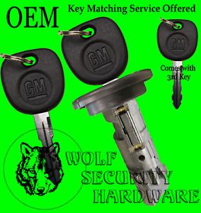 Escalade Hummer 03-06 (some 07) OEM Ignition Key Switch Lock Cylinder 3 GM Keys
