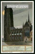Saint Rombaut Cathedral Malines Belgium 1920 Trade Ad Card