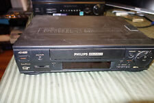 Phillips Manavox Vcr Model No. Vra451At01, Black