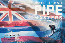 2013 Mint Official Billabong Pipe Masters Anydy Irons Pipe Contest Hawaii Poster