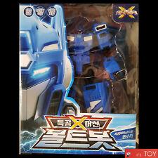 MINIFORCE MINI FORCE X BOLTBOT VOLTBOT Bolt Volt Bot Blue Transformer Robot Car