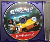 Need for Speed Hot Pursuit 2 PS2 Disc Only Tested Sony PlayStation 2 Ps2